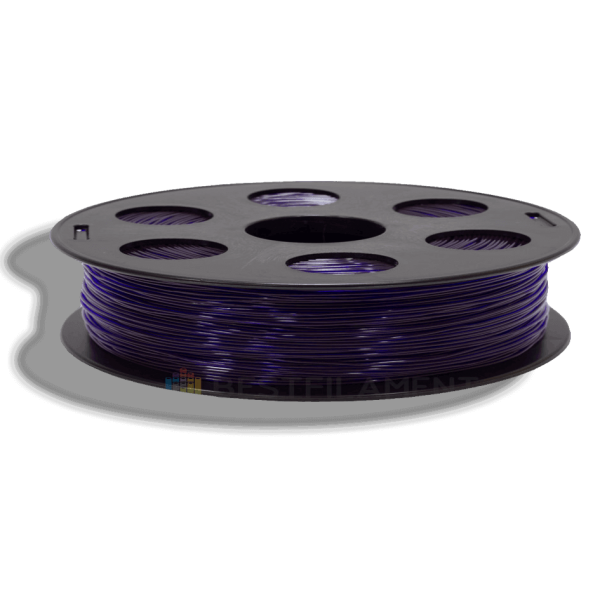 Фиолетовый SBS «ВАТСОН» пластик для 3Д принтера 1,75 ММ. 0,5 КГ.