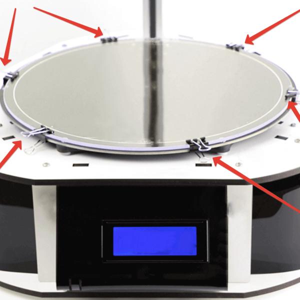 Ситалловое стекло для 3D Принтера Круглое D-170мм