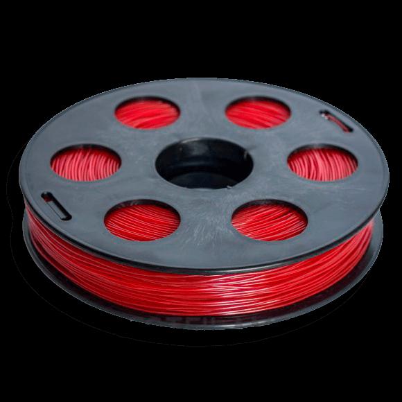 Красный SBS «ВАТСОН» пластик для 3Д принтера 1,75 ММ. 0,5 КГ.