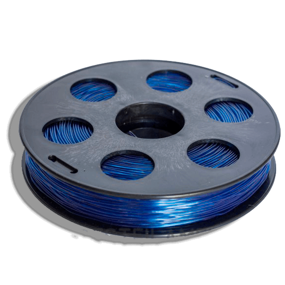 Синий SBS «ВАТСОН» пластик для 3Д принтера 1,75 ММ. 0,5 КГ.