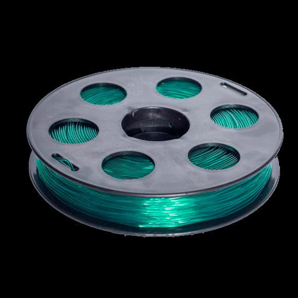 Изумрудный SBS «ВАТСОН» пластик для 3Д принтера 1,75 ММ. 0,5 КГ.