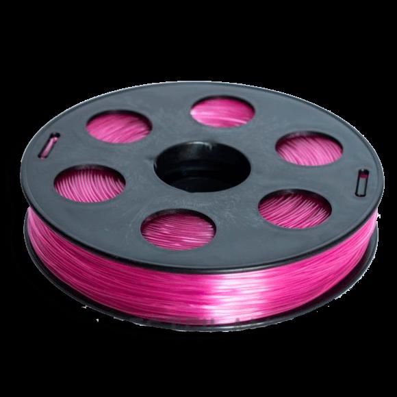 Розовый SBS «ВАТСОН» пластик для 3Д принтера 1,75 ММ. 0,5 КГ.
