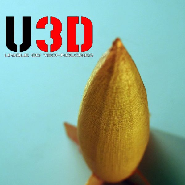 "Рыжий SBS ""ВАТСОН"" пластик для 3Д принтера 1,75 ММ. 0,5 КГ."