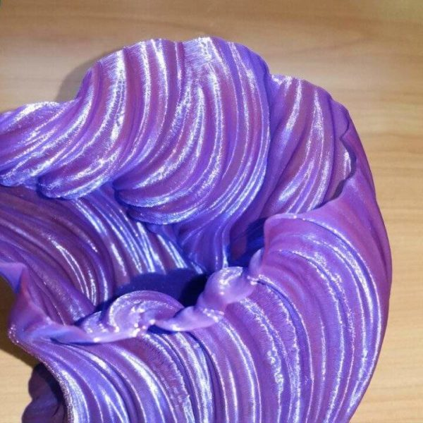 """Фиолетовый SBS """"ВАТСОН"""" пластик для 3Д принтера 1,75 ММ. 0,5 КГ."""