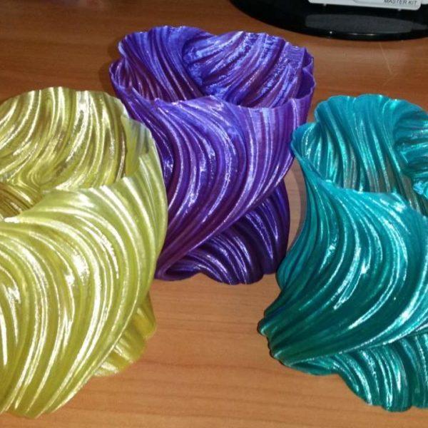"""Синий SBS """"ВАТСОН"""" пластик для 3Д принтера 1,75 ММ. 0,5 КГ."""