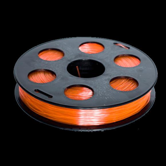 Рыжий SBS «ВАТСОН» пластик для 3Д принтера 1,75 ММ. 0,5 КГ.