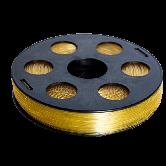 Желтый SBS «ВАТСОН» пластик для 3Д принтера 1,75 ММ. 0,5 КГ.