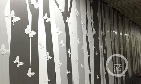Более 2000 разнообразных 3D-Печатных бабочек украсили пешеходный туннель в Китая